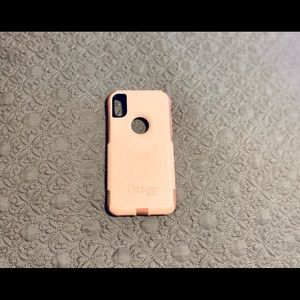 OtterBox Commuter Series Pink Case for IPhone X